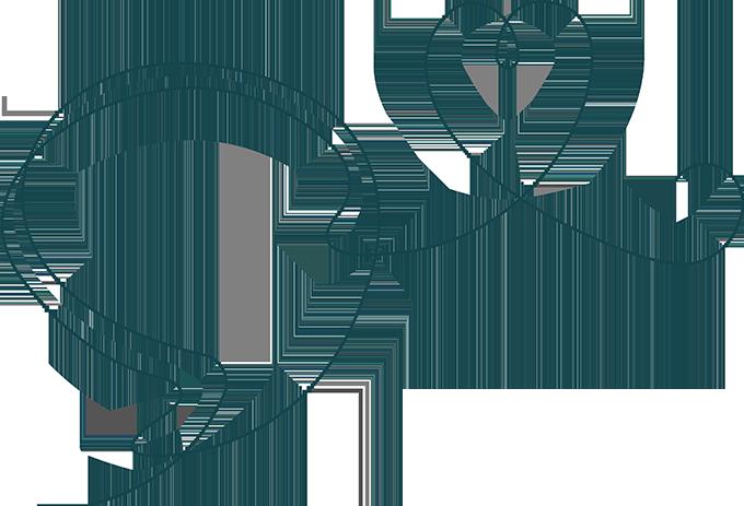 Firmafon logo med hjerte